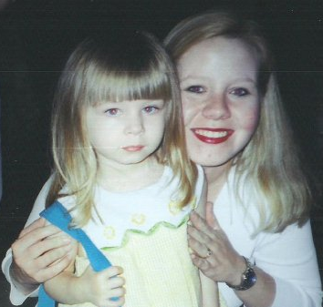 the only time I ever I tried blonde - whew! - at dinner with my oldest daughter, celebrating my graduation from nursing school. 2003.