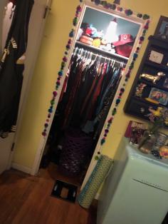 my closet after :)