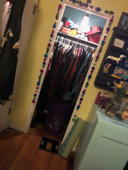 my closet after :)