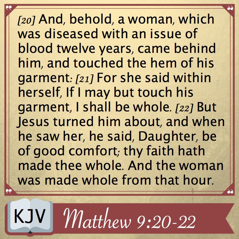 Matthew 9_20-22